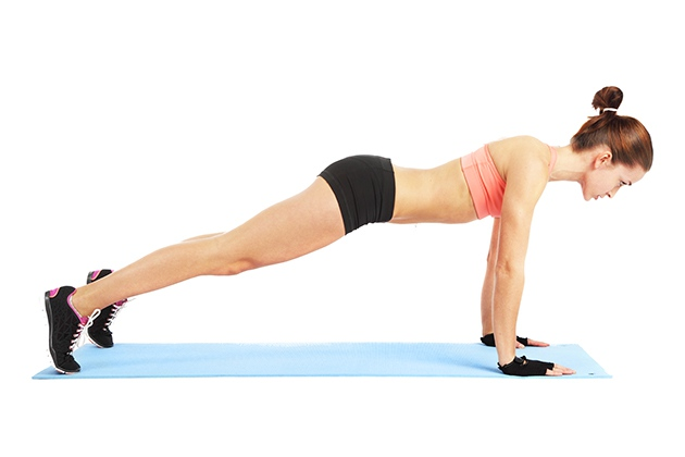 Hít đất giúp giảm cân