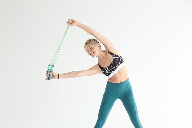 Nhảy dây giúp giảm căng thẳng