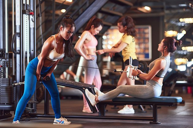 Lợi ích tập Gym cho nữ