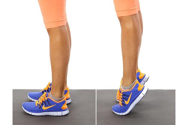 Nhón gót giảm mỡ bắp chân