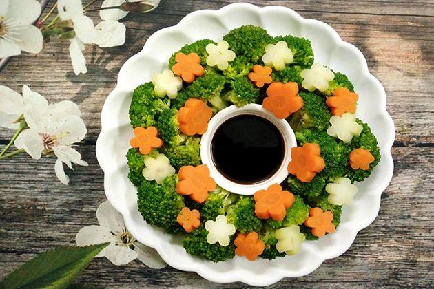 Ăn rau củ luộc giúp giảm mỡ bụng dưới