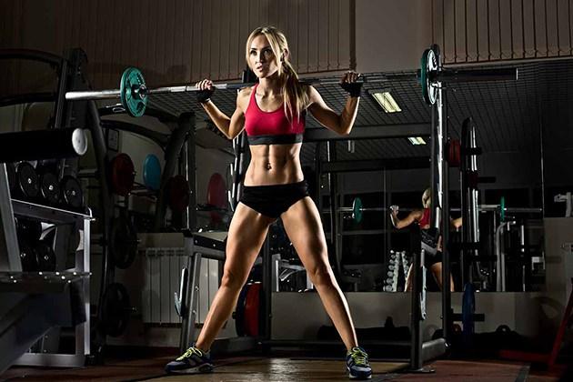 Bài tập Gym cho người gầy