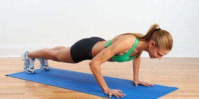 Hít đất có giảm mỡ bụng không?