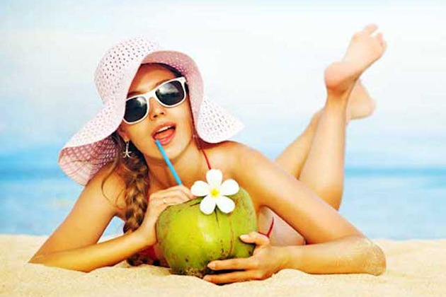 Uống nước dừa tươi giúp giảm cân