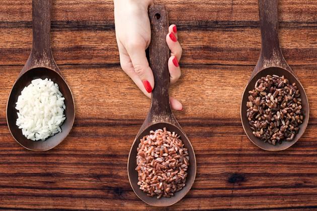 Ăn gạo lứt giúp giảm cân
