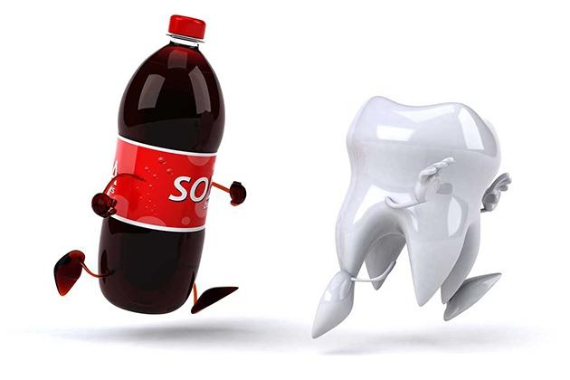 Nước ngọt không tốt cho răng