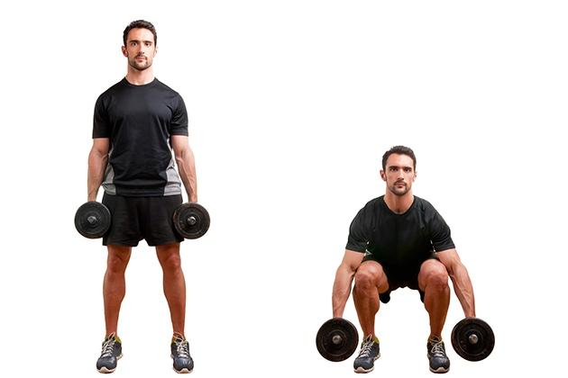 Squat tăng thể lực
