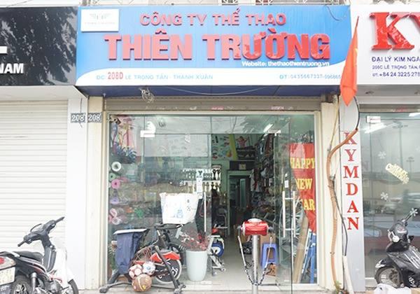 Cửa hàng Thể Thao Thiên Trường chi nhánh Hà Nội