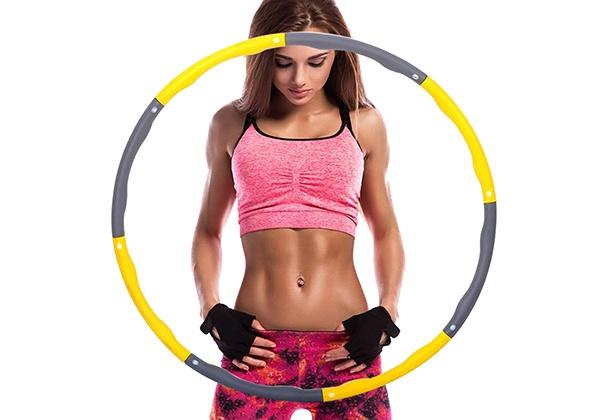 Lắc vòng đúng cách giúp giảm mỡ bụng hiệu quả