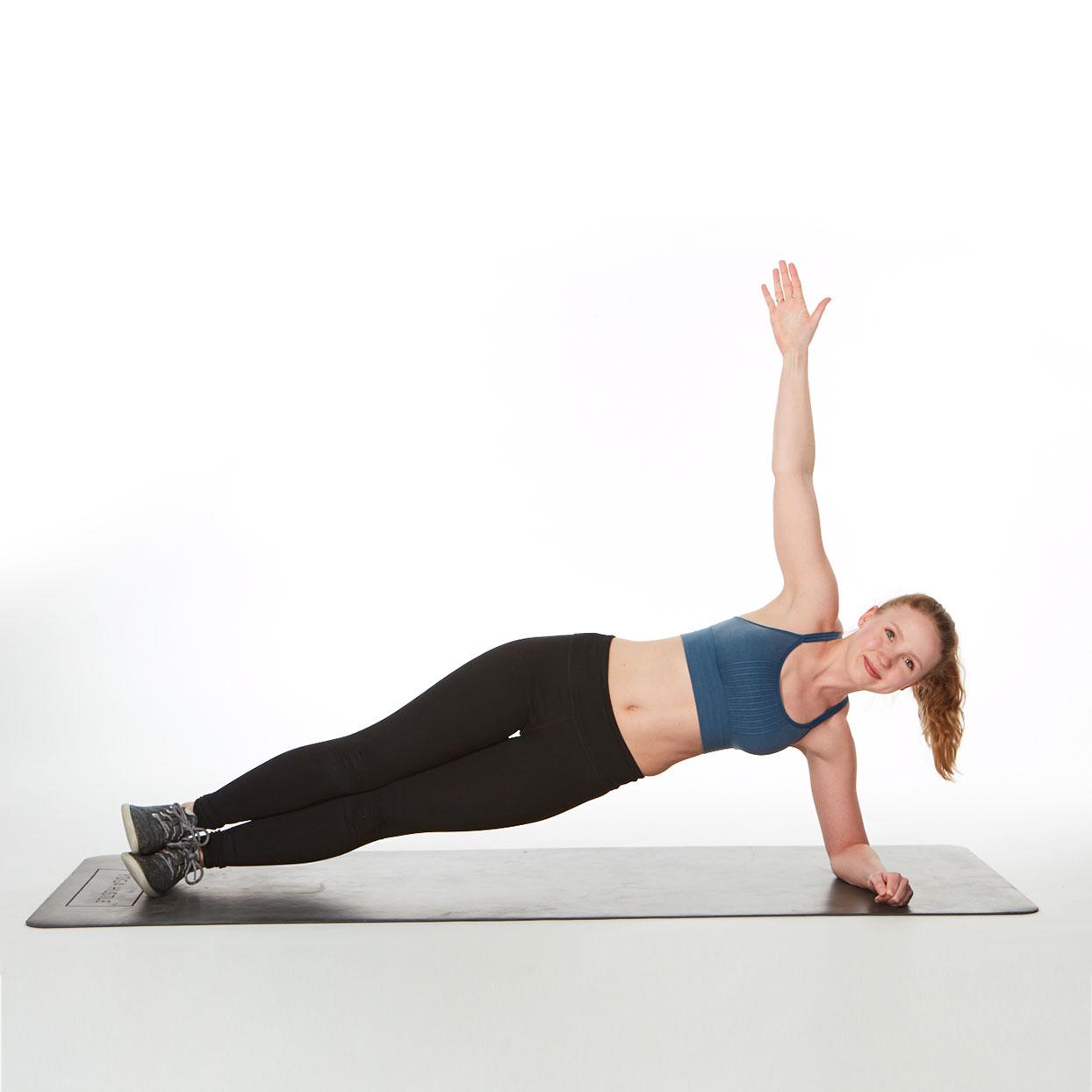 Hãy tập Plank mỗi ngày