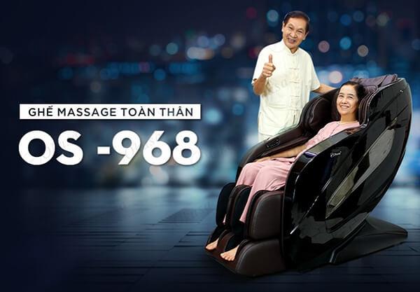 Ghế có con lăn massage 4D cao cấp mang đến khả năng thư giãn hiệu quả.