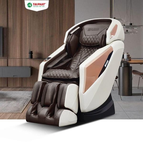 Ghế massage Fujikashi FJ-5000 có nhiều phiên bản màu sắc.