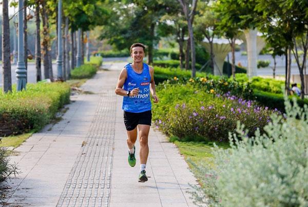Chạy bộ giảm mỡ toàn thân