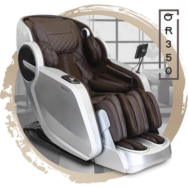Ghế massage Oreni OR-350 có kiểu dáng thiết kế hiện đại, mang tính công nghệ cao