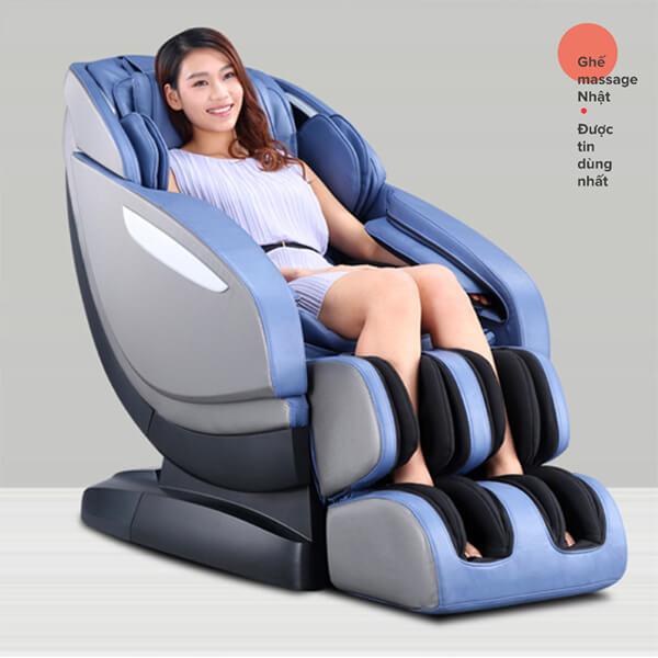 Ghế massage Maxcare 668 có nhiều phiên bản màu sắc cho bạn lựa chọn