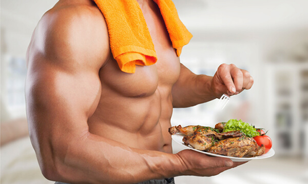 Chế độ dinh dưỡng rất quan trọng trong việc tăng cơ bắp