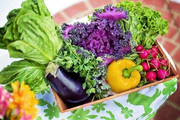 Tăng cường rau xanh trong chế độ ăn